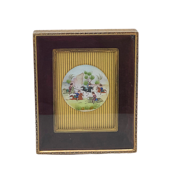 Miniature Persian Painting - Opportunity Shop DC