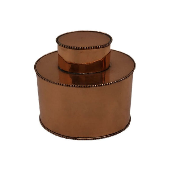 English Copper Tea Caddy