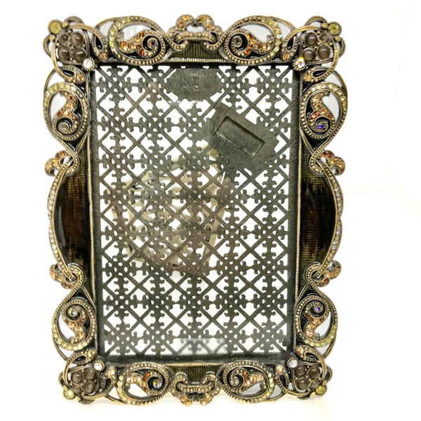 Tizo Enamel and Jeweled Picture Frame