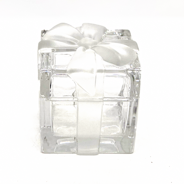 Tiffany & Co. Crystal Gift Box with Bow
