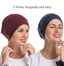 Load image into Gallery viewer, Genovega Slouchy Beanie Sleep Cap