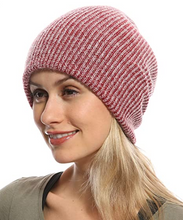 Load image into Gallery viewer, Genovega Wool Acrylic Slouchy Beanie Hat