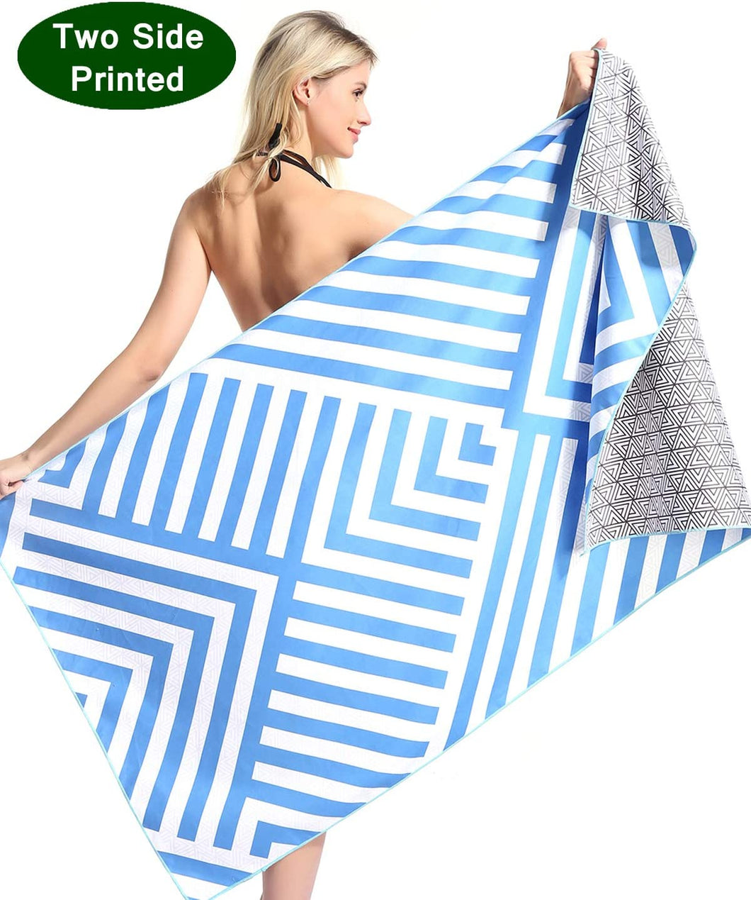 2020 Graduation Gift Her Him Microfiber Beach Towel