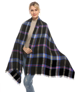Oversized Long Blanket Scarf 80 x 32 inch