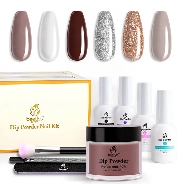 Dip Powder Nails Kit #009 | Gingerbread