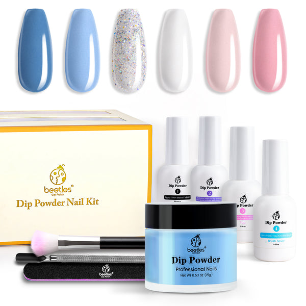 Dip Powder Nails Kit #018 | Cotton Candy