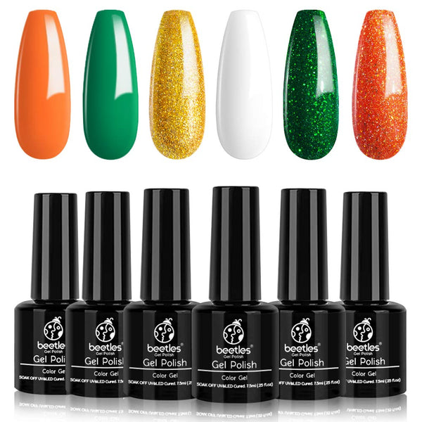 Gel Polish 6 Colors Set | Lucky Charms