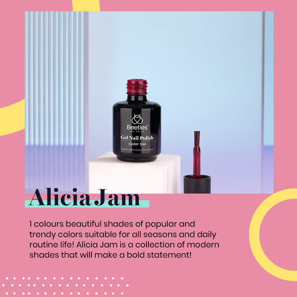 Gel Nail Polish 15ml | Alicia Jam