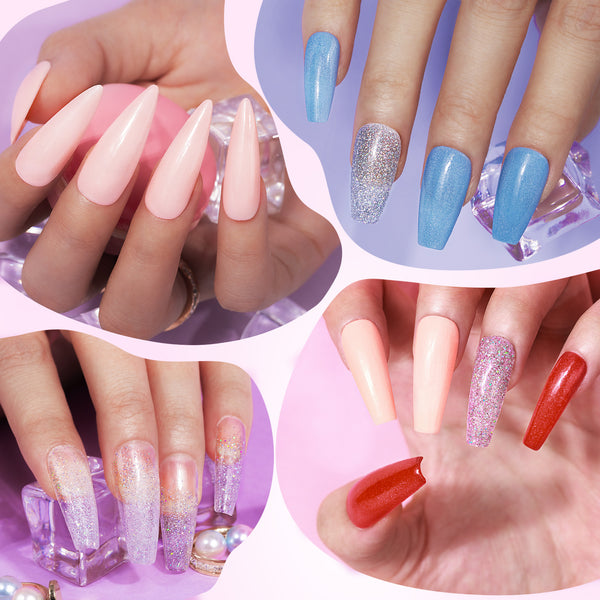 Dip Powder Nails Kit #010 | Candy Crush