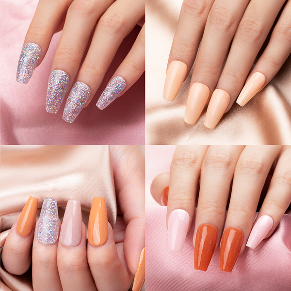 Dip Powder Nails Kit #011 | Nude Set