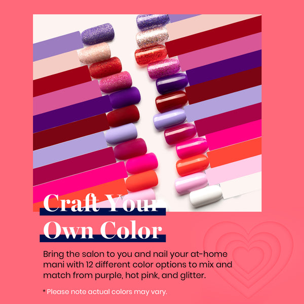 Gel Polish 12 Colors Set | Love Bug