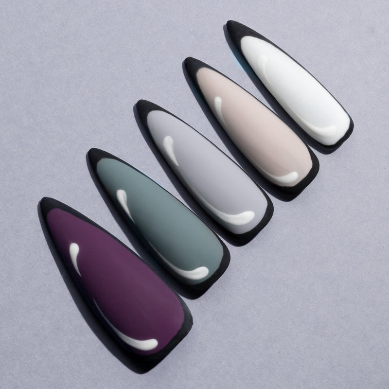 Gel Polish 6 Colors Set | Snow Lake