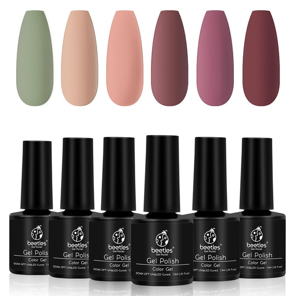 Gel Polish 6 Colors Set | Fall In Love