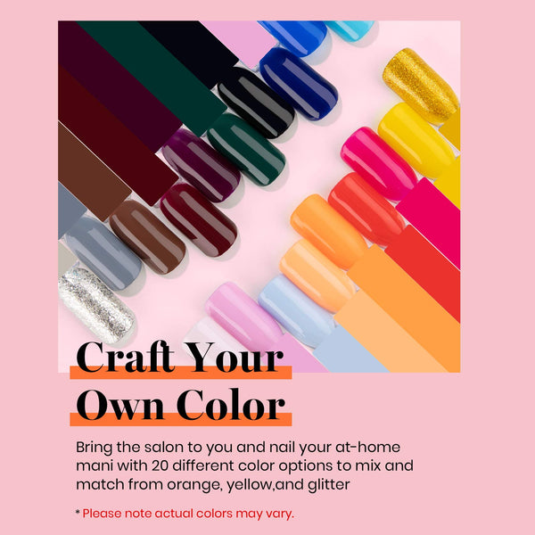 Gel Polish 20 Colors Set | Perfect 20