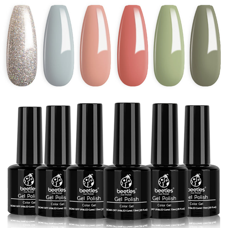 Gel Polish 6 Colors Set | Southern Belle