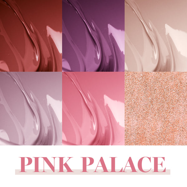 Gel Polish 6 Colors Set | Pink Palace