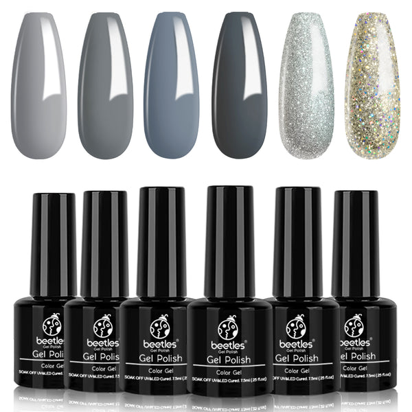 Gel Polish 6 Colors Set  | Elephantastic