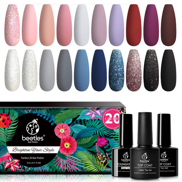 Gel Polish 20 Colors Set | Modern Muse
