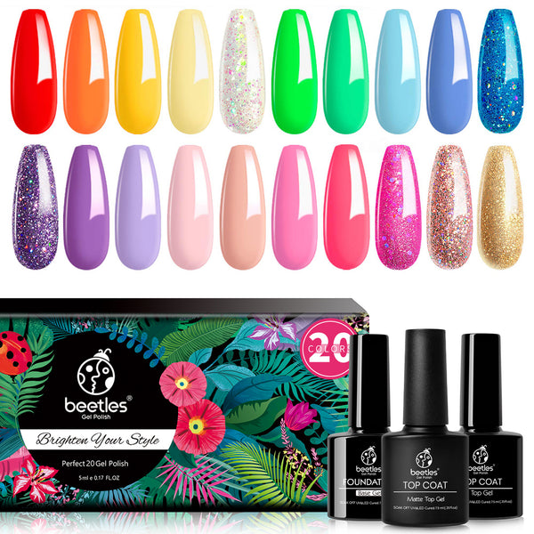 Gel Polish 20 Colors Set | Kaleidoscope