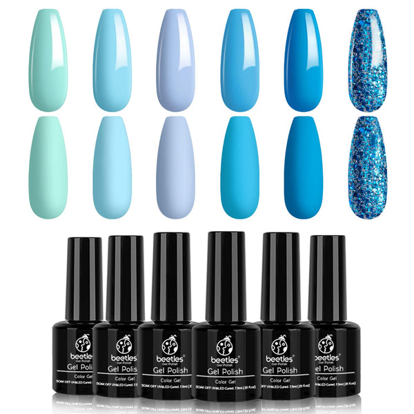 Gel Polish 6 Colors Set | Splish Splash