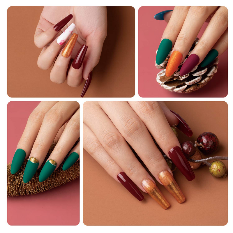 Gel Polish 6 Colors Set | Cornucopia