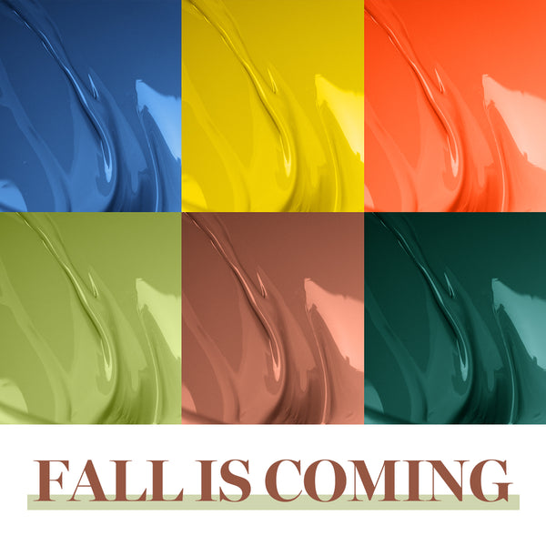 Gel Polish 6 Colors Set | Fall Is Coming
