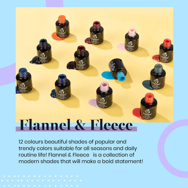 Gel Polish 12 Colors Set | Flannel & Fleece