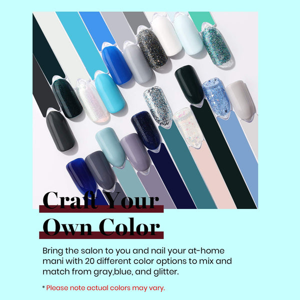 Gel Polish 20 Colors Set | Wonderland