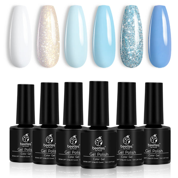 Gel Polish 6 Colors Set | On The Rocks