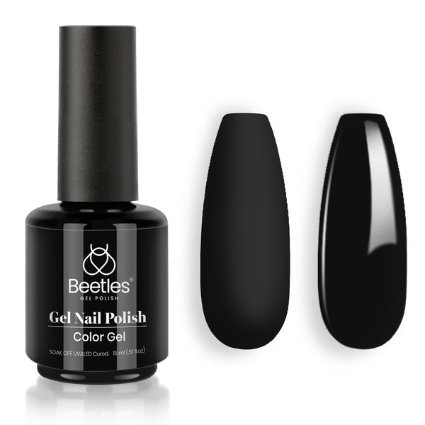 Gel Nail Polish 15ml | Audrey Black