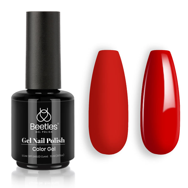 Gel Nail Polish 15ml | Scarlett Red