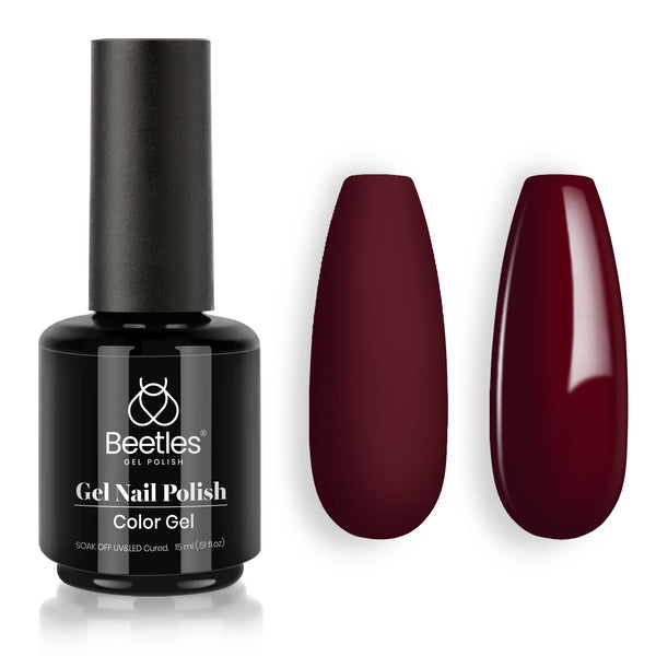 Gel Nail Polish 15ml | Jacqueline Mahogany