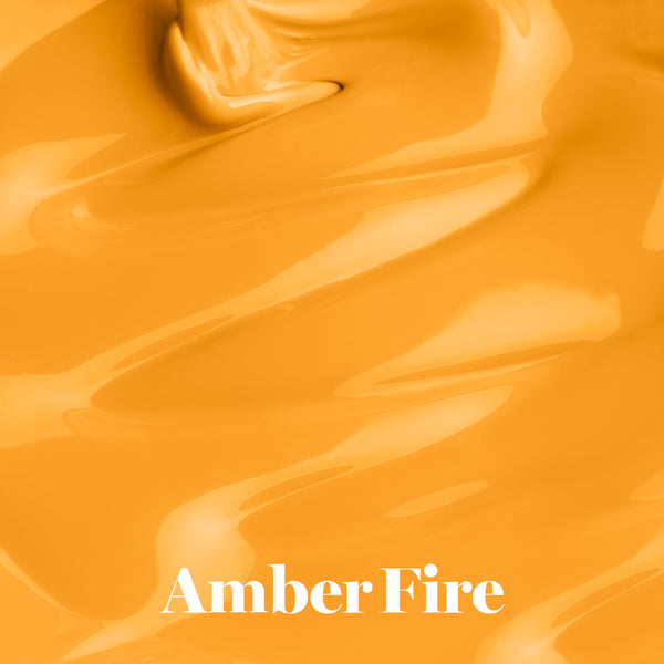 Gel Nail Polish 15ml | Amber Fire