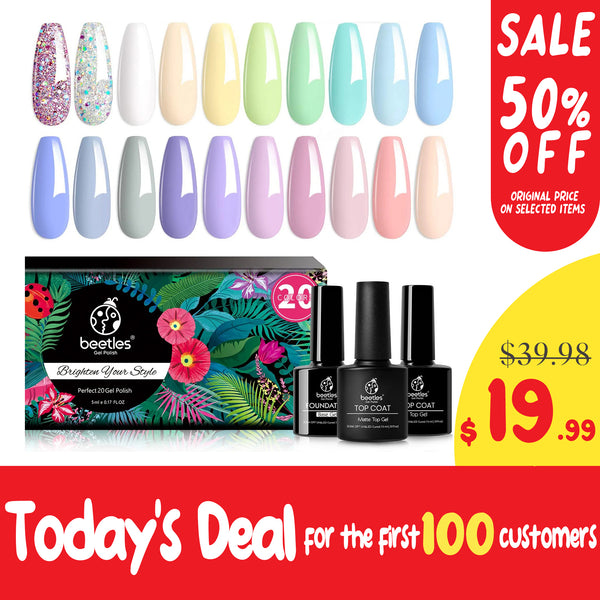 Gel Polish 20 Colors Set | Pastel Paradise
