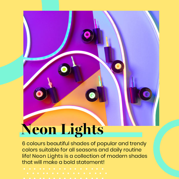 Gel Polish 6 Colors Set | Neon Light