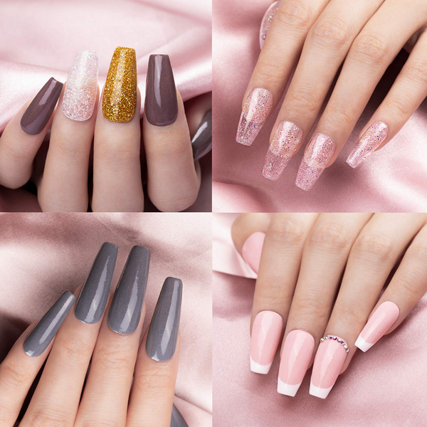 Dip Powder Nails Kit #007 | French