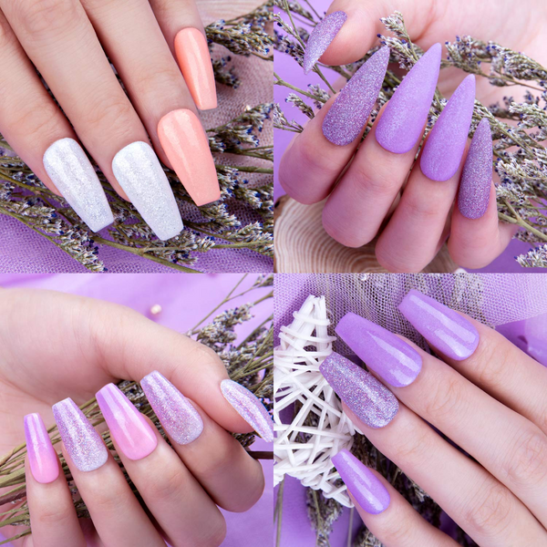 Dip Powder Nails Kit #049 | Lavander Dream