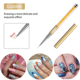 Nail Design Brush Liner Painting Pen Full Art Accessories