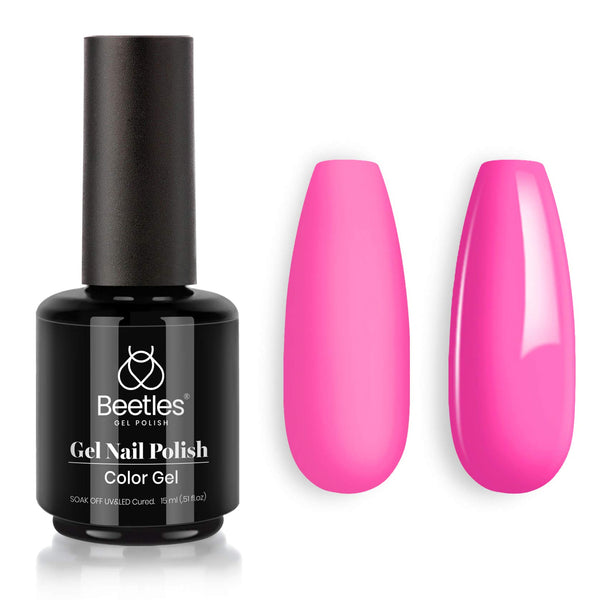 Gel Nail Polish 15ml | Poppy Pink