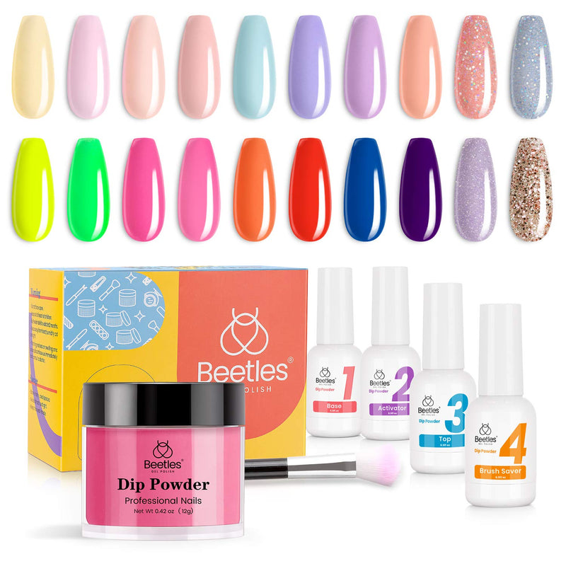 Dip Powder Nails Kit #117 | Spring Into Summer