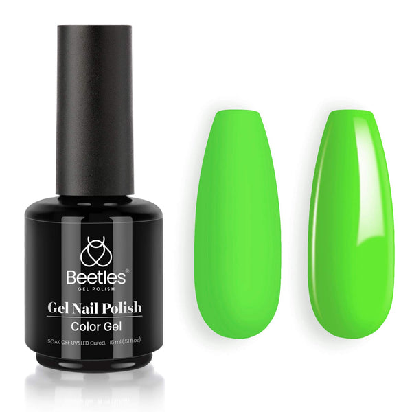 Gel Nail Polish 15ml | Billie Neon Green