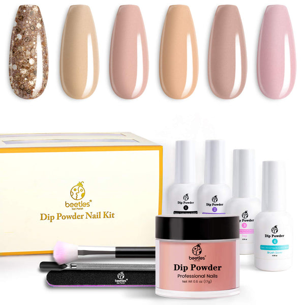 Dip Powder Nails Kit #100 | Nude Set