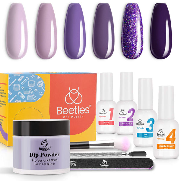 Dip Powder Nails Kit #112| Grape Vine
