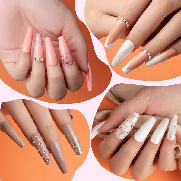 Beetles Gel Polish Nude Pink Nail Kit