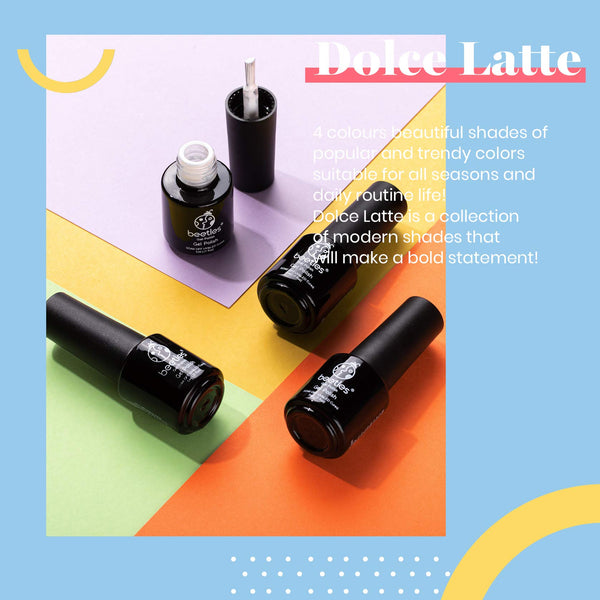 Gel Polish 4 Colors Set | Dolce Latte