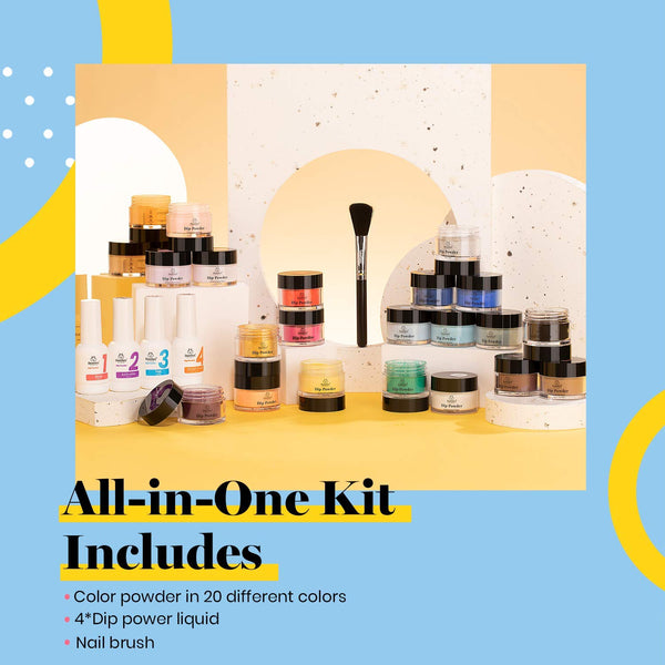 Dip Powder Nails Kit #114 | Perfect 20
