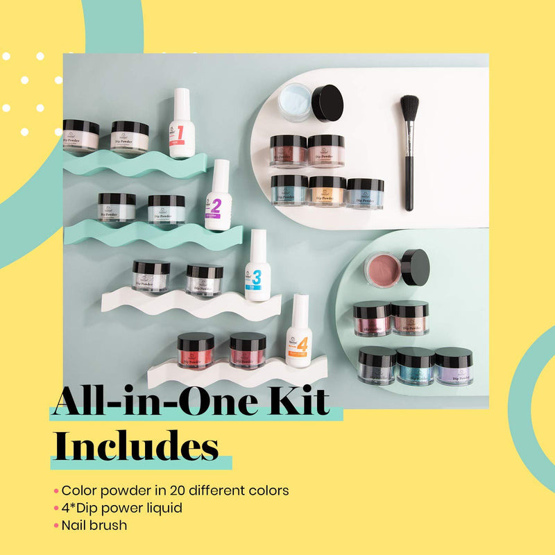 Dip Powder Nails Kit #116 | Free Spirit
