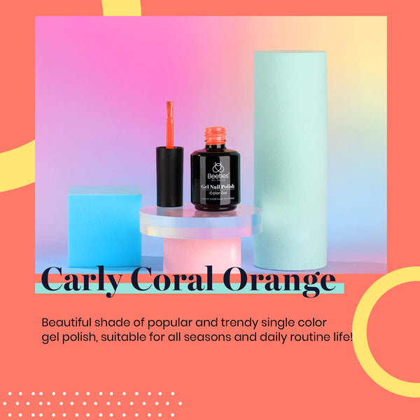 Gel Nail Polish 15ml | Carly Coral