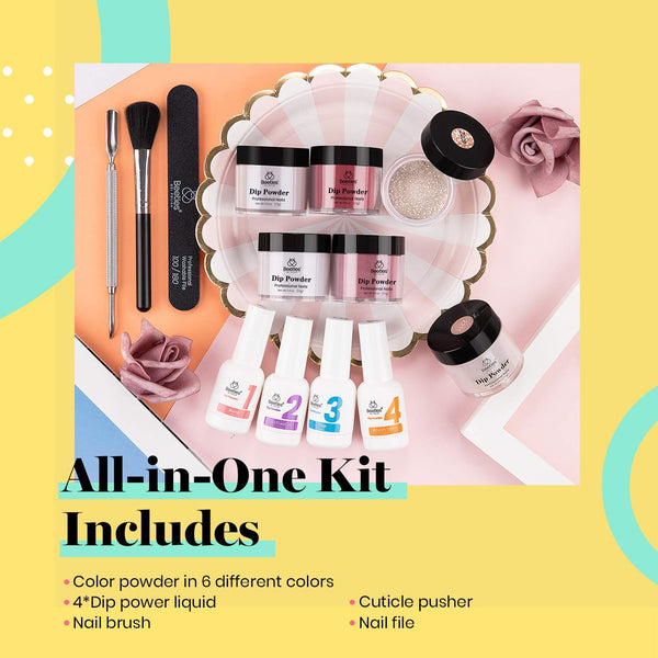 Dip Powder Nails Kit #109 | Pixie Dust