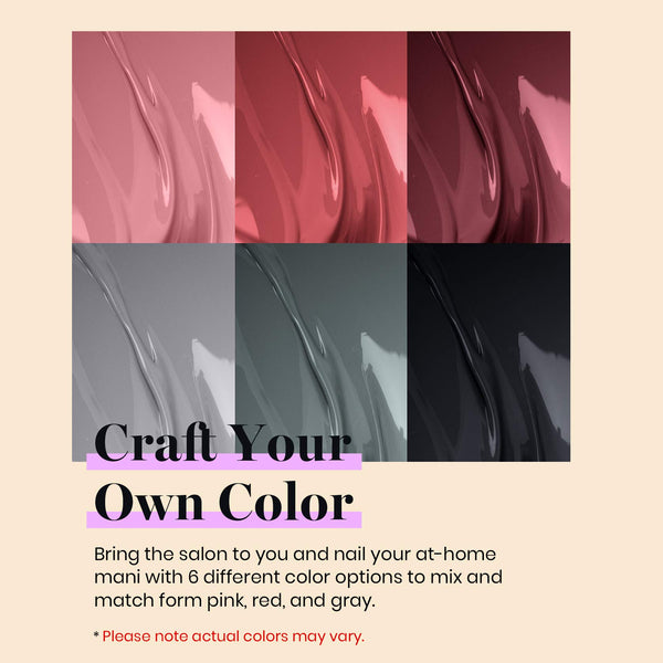 Gel Polish 6 Colors Set | Bridesmaid Beauty